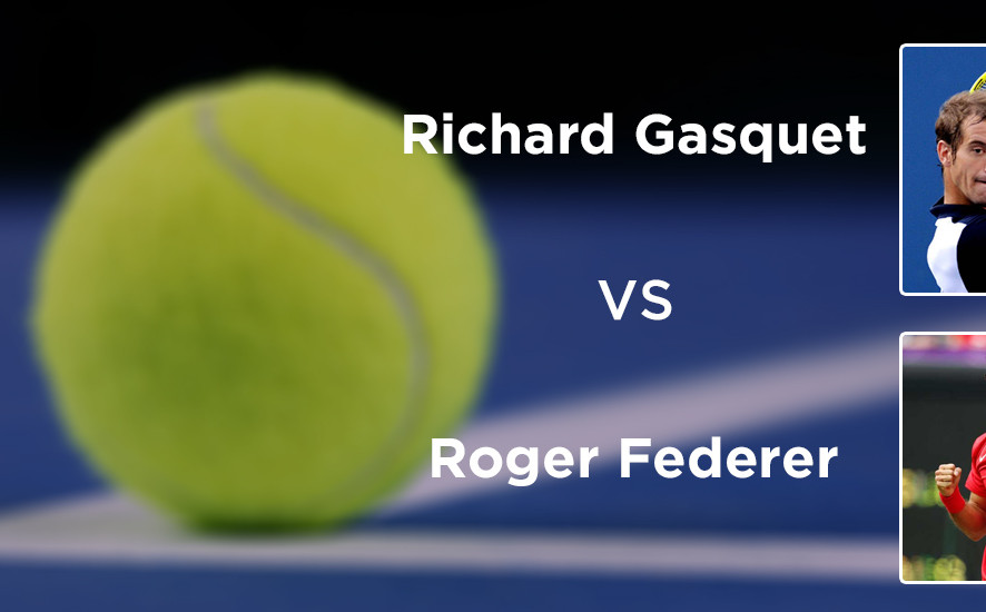 Richard Gasquet VS Roger Federer
