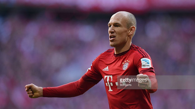 Balon D'Or - Arjen Robben - Bayern Munich and Holland
