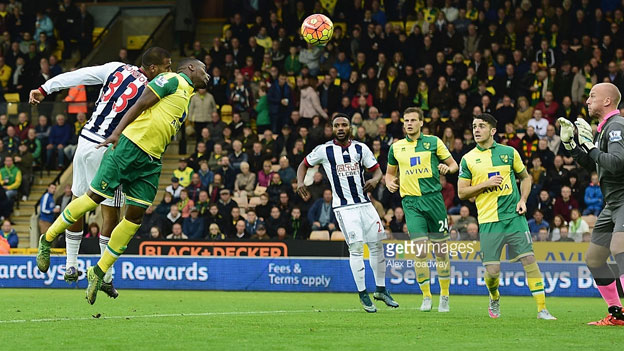 Premier League Betting - Norwich City Vs West Brom 0-1