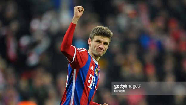 Serie A Betting - Thomas Muller - Bayern Munich and Germany