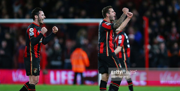 Football betting odds - AFC Bournemouth Vs Manchester United 2-1