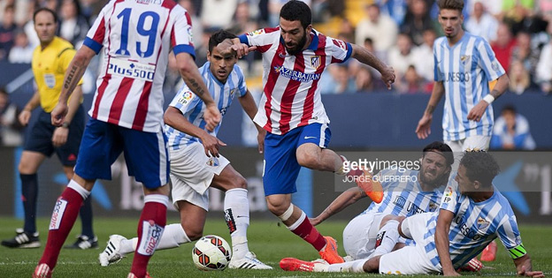 La Liga betting odds - Malaga Vs Atletico Madrid