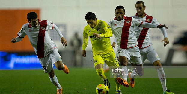 Sport betting odds - Villarreal Vs Rayo Vallecano