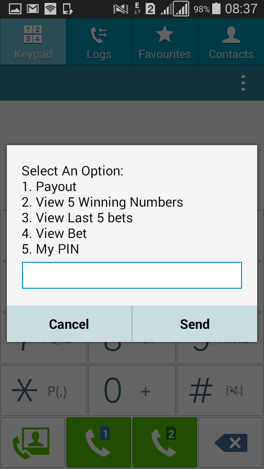 Baba Ijebu on MTN - account options