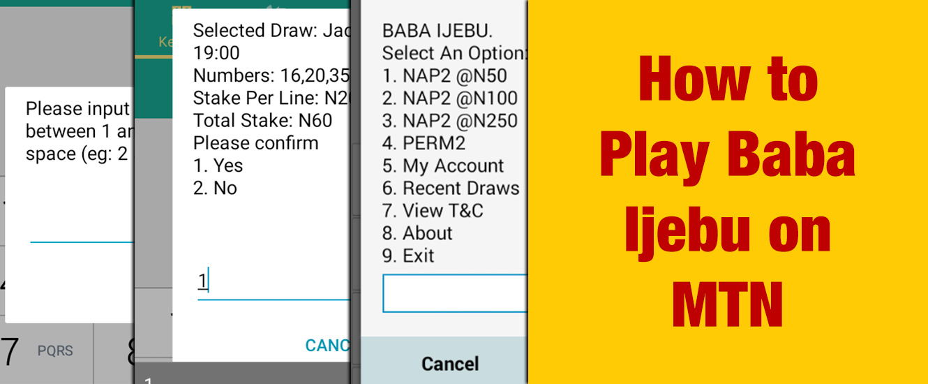 Play Baba Ijebu on MTN - How To